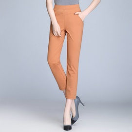 Casual Slimming Elastic Waist Pencil Pants NSYY39264