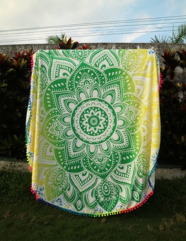 Fashion Flower Embroidered Scarf NSOY46242