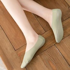 Solid Color Boat Socks NSFN46363