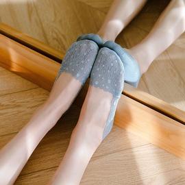 Dot Print Boat Socks NSFN46367