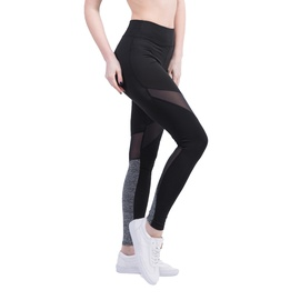 Mesh Stitching Breathable Slim Yoga Pants NSLX46618