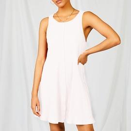 Solid Color Halter Camisole Dress  NSKL46621