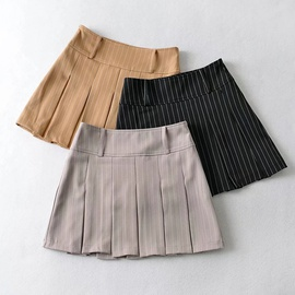New Pleated Spring And Summer Skirt NSHS46920