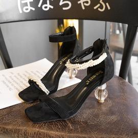 New Pearl High Heel Fashion Sandals  NSHU39356