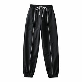 Fashion Striped Loose Harem Sports Pants  NSAC39393
