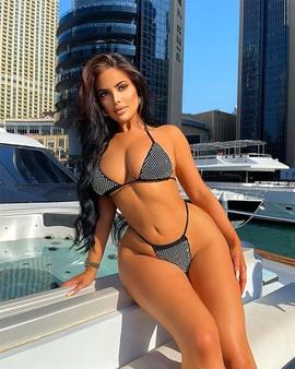 Sexy Low-waist Split Swimsuit  NSXYA39477