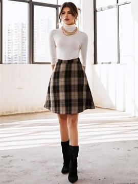 Fashion Short Woolen Skirt NSXYA39485