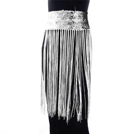 Sexy Sequin Fringed Skirt  NSXYA39503