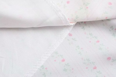 Spring Retro Printed Breasted Dress NSAM39612