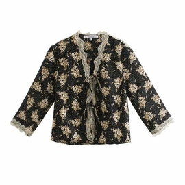 Fashion Casual Spring Printed Blouse  NSAM39648