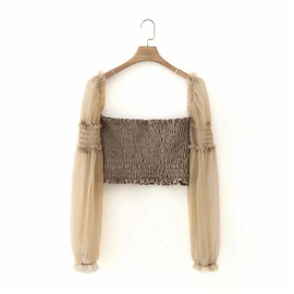 Fashion Two-wear Long-sleeved Chiffon Shirt NSLD39671