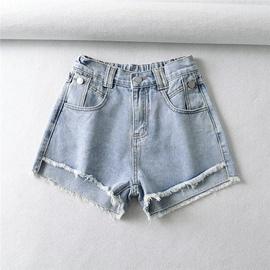 Fashion Stitching Casual Simple Shorts NSLD39675