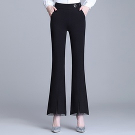 New Spring High-waist Slim Micro-pants  NSYZ39756