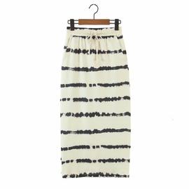Fashion Casual Stripe Tie-dye Skirt  NSAM39837