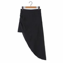 Temperament Asymmetrical Bag Hip Long Skirt NSAM39868