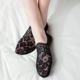 Deep Mouth Invisible Silicone Non-slip Thin Socks  NSFN40106