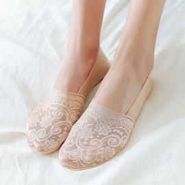 Fashion Lace Invisible Short Socks  NSFN40115