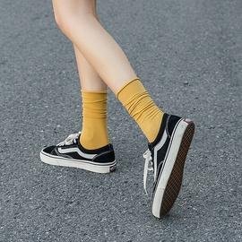 Color Velvet Elastic Tube Socks  NSFN40125