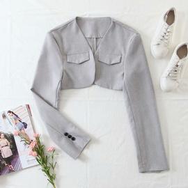 Spring New Style Detachable Vest Suit Jacket NSAM40193