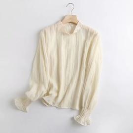 Style Lace Thin Shirt  NSAM40219