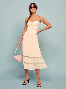 Fashion Hollow Sexy Sling Dress NSAC40313
