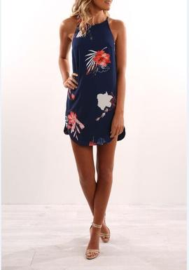 Printed Fashion Sling Dress NSYF47046