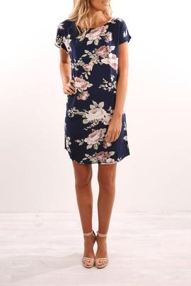 Fashion Printed Round Neck Dress  NSYF47076