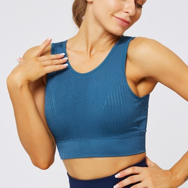 Light Support Meshed Back Sports Bra NSNS47311