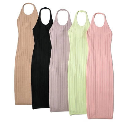 New Sexy Strip Stretch Slim Dress NSAC49185