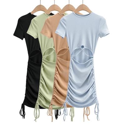 Summer New Sexy Waist Strap Dress NSAC49737