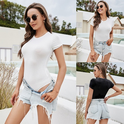 Summer New Round Neck Casual Clothing NSLM49846