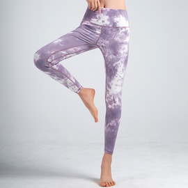 Sports Casual Tie-dye Yoga Pants  NSJO49861