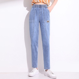 New Summer Denim Cotton Trousers NSYZ49888