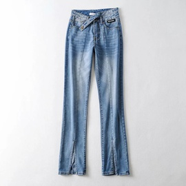 Spring New Fashion High Waist Denim Trousers NSHS49801