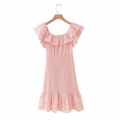 New Pure Color Dress NSAM50417