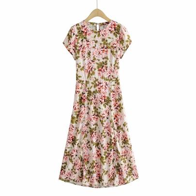 Summer New Holiday Style Halter Long Dress NSAM50418