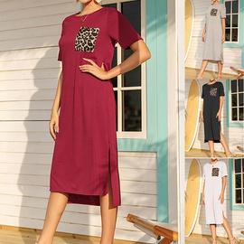 Summer Fashion Loose Casual Dress NHSUO50433