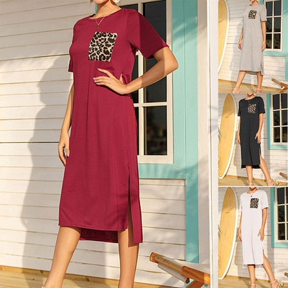 Summer Fashion Loose Casual Dress NHSUO50433