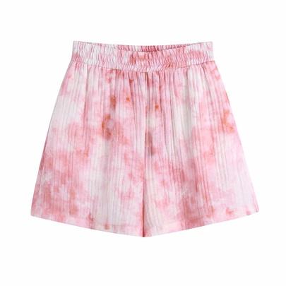 Spring Tie-dye Printing Shorts NSAM50484
