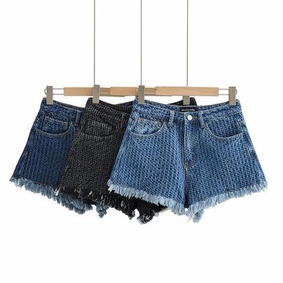 New High Waist Denim Pants NSHS50526