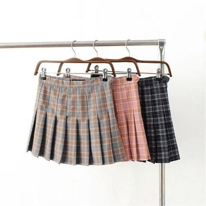 New High-waist Pleated Skirt  NSHS50603