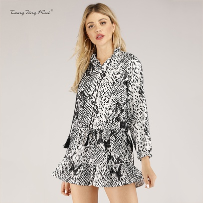 Spring New Fashion Drawstring Dress  NSJR50658
