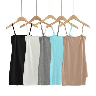 Spring/Summer New Slim Side Slit Sling Skirt NSAC50775