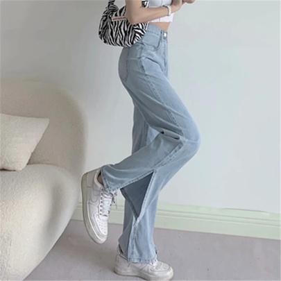 Fashion Summer Loose High Waist Pants NSAC50792