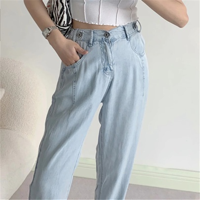 Spring New Loose Thin Breathable Jeans NSAC50798