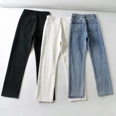 Summer New Thin High-waisted Trousers NSAC50800