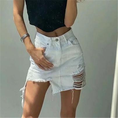 Summer High Waist Denim Skirt NSAC50812