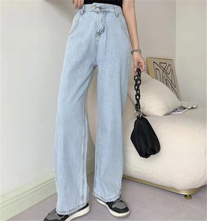 Loose Summer Casual Denim Trousers NSAC50815