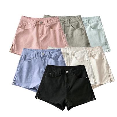 Summer High Waist Slim Casual Jeans  NSAC50816