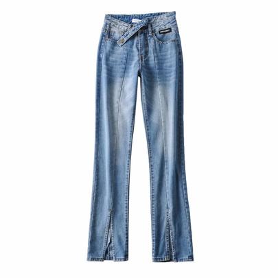 Spring New High Waist Slim Denim Trousers NSAC50817